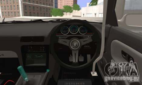 Nissan Silvia S13 Slammed для GTA San Andreas вид сзади слева