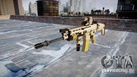 Автомат FN SCAR-L Mk 16 icon2 для GTA 4