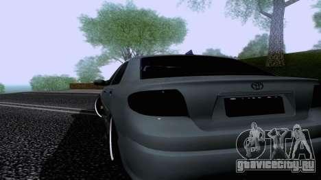 Toyota Vios Extreme Edition для GTA San Andreas вид слева