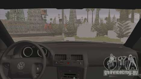 Volkswagen Golf 4 R36 для GTA San Andreas вид сзади слева