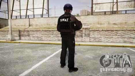 Униформа штурмовой группы со спец. вооружением для GTA 4 третий скриншот
