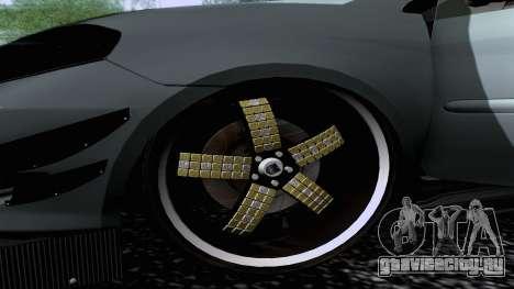Toyota Vios Extreme Edition для GTA San Andreas вид сзади слева