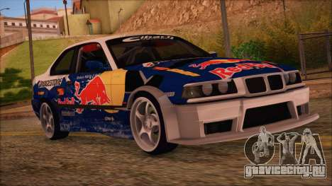 BMW E36 Coupe Bridgestone Red Bull для GTA San Andreas