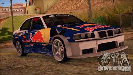 BMW E36 Coupe Bridgestone Red Bull для GTA San Andreas