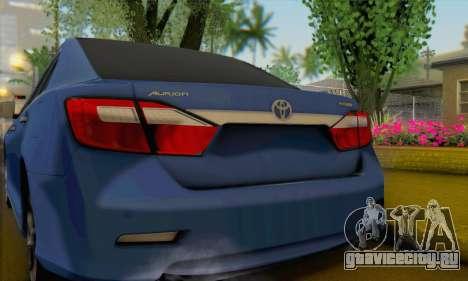 Toyota Aurion для GTA San Andreas