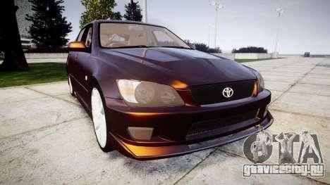 Toyota Altezza для GTA 4