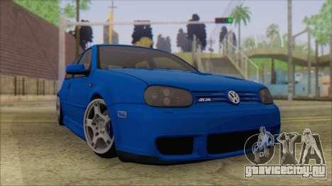 Volkswagen Golf 4 R36 для GTA San Andreas