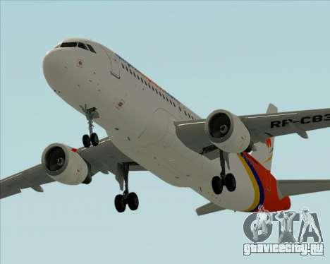 Airbus A320-200 Airphil Express для GTA San Andreas двигатель
