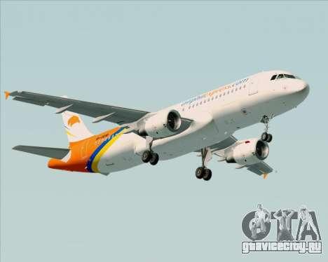 Airbus A320-200 Airphil Express для GTA San Andreas колёса