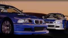 BMW M3 E46 GTR купе для GTA San Andreas