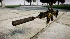 Автомат P416 ACOG silencer PJ2 target