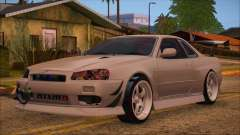 Nissan Skyline R34 GTR V-Spec 2 для GTA San Andreas