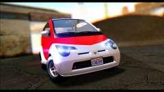 GTA 5 Benefactor Panto IVF для GTA San Andreas