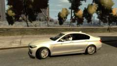 BMW 525 F10 для GTA 4