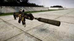 Автомат P416 ACOG silencer PJ2
