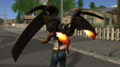 Jetpack from Batman Arkham Origins для GTA San Andreas