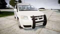 Dodge Grand Caravan [ELS] Liberty County Sheriff для GTA 4