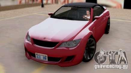 Übermacht Zion Cabrio GTA V для GTA San Andreas