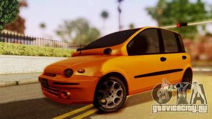 Fiat Multipla Normal Bumpers для GTA San Andreas