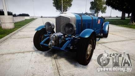 Bentley Blower 4.5 Litre Supercharged [high] для GTA 4