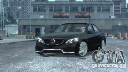 Mercedes-Benz E63 BRABUS 850 для GTA 4