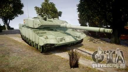 Leopard 2A7 ES Green для GTA 4