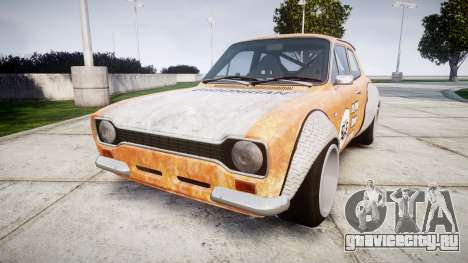 Ford Escort Mk1 Rust Rod v2.0 для GTA 4