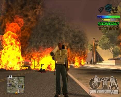 C-HUD Simple для GTA San Andreas