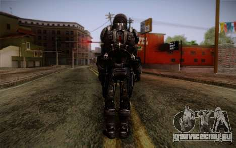 Shepard N7 Defender from Mass Effect 3 для GTA San Andreas второй скриншот