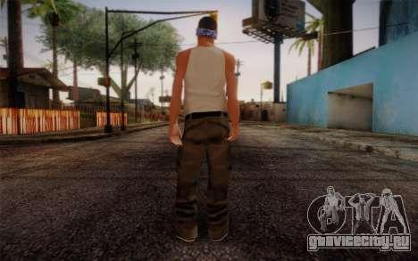 New Fam Skin 2 для GTA San Andreas второй скриншот