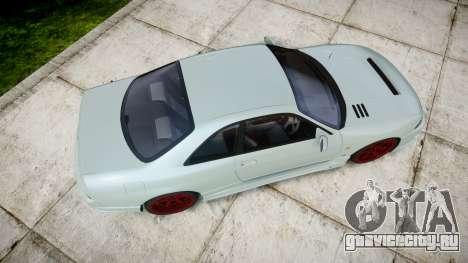 Nissan Skyline GT R33 1996 для GTA 4 вид справа