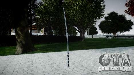 Самурайский меч для GTA 4 второй скриншот