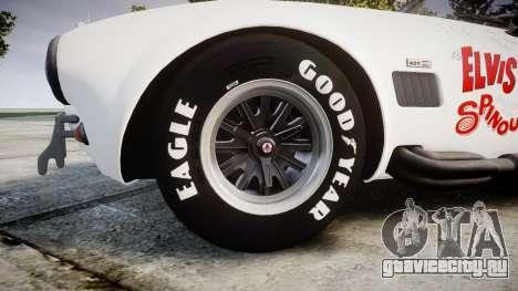 AC Cobra 427 PJ3 для GTA 4 вид сзади