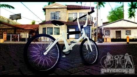 New Bike для GTA San Andreas вид сзади слева