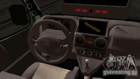 Fiat Doblo 2005 для GTA San Andreas вид сзади слева