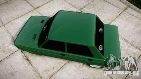 Fiat 128 Berlina для GTA 4 вид справа