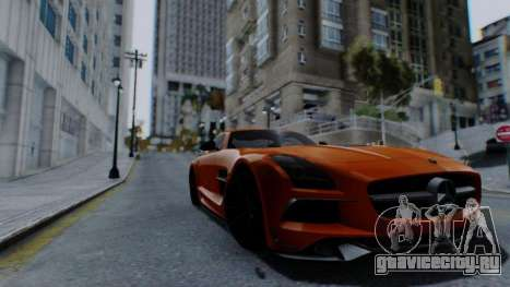 Santo ENB v4 Reffix для GTA San Andreas третий скриншот