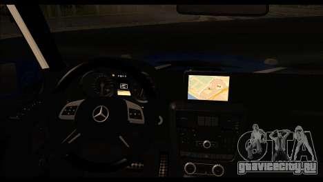Merсedes-Benz G65 AMG для GTA San Andreas вид сзади слева