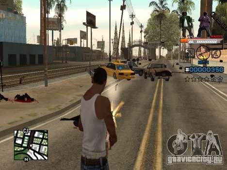 C-HUD Ghetto Live для GTA San Andreas третий скриншот