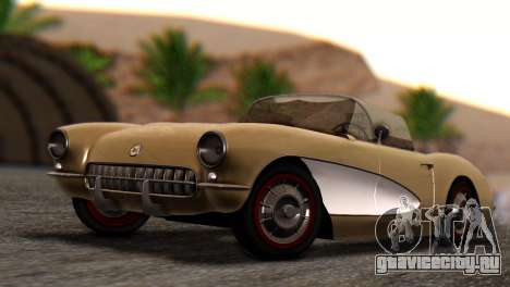 Chevrolet Corvette C1 1962 Dirt для GTA San Andreas
