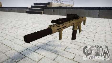 Штурмовая винтовка AAC Honey Badger [Remake] tar для GTA 4