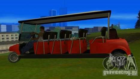 Caddy Restyle для GTA San Andreas вид слева