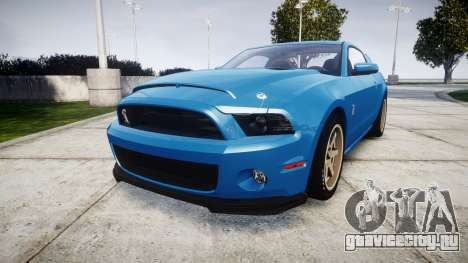 Ford Mustang Shelby GT500 2013 для GTA 4