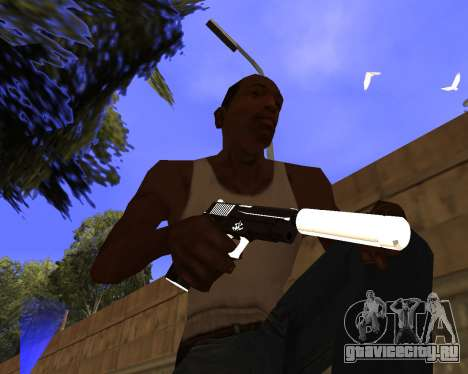 Hitman Weapon Pack v2 для GTA San Andreas