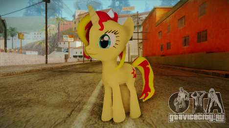 Summer Shimmer from My Little Pony для GTA San Andreas