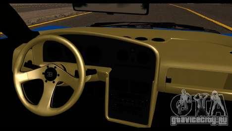 Bugatti EB110SS для GTA San Andreas вид сзади слева