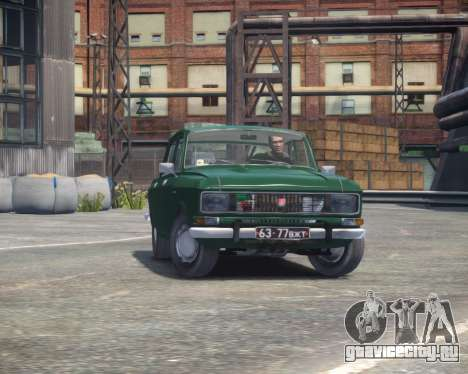 АЗЛК 2140 для GTA 4