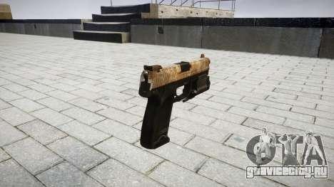 Пистолет HK USP 45 dusty для GTA 4 второй скриншот