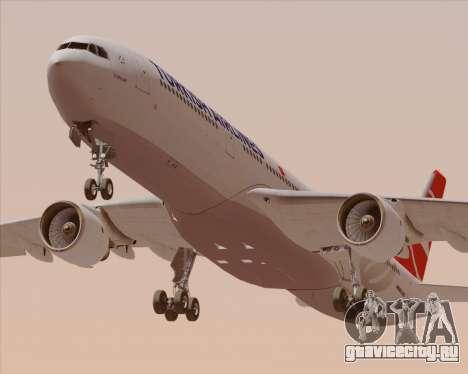 Airbus A330-300 Turkish Airlines для GTA San Andreas двигатель