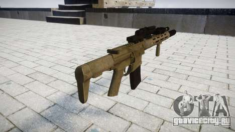 Штурмовая винтовка AAC Honey Badger [Remake] для GTA 4 второй скриншот